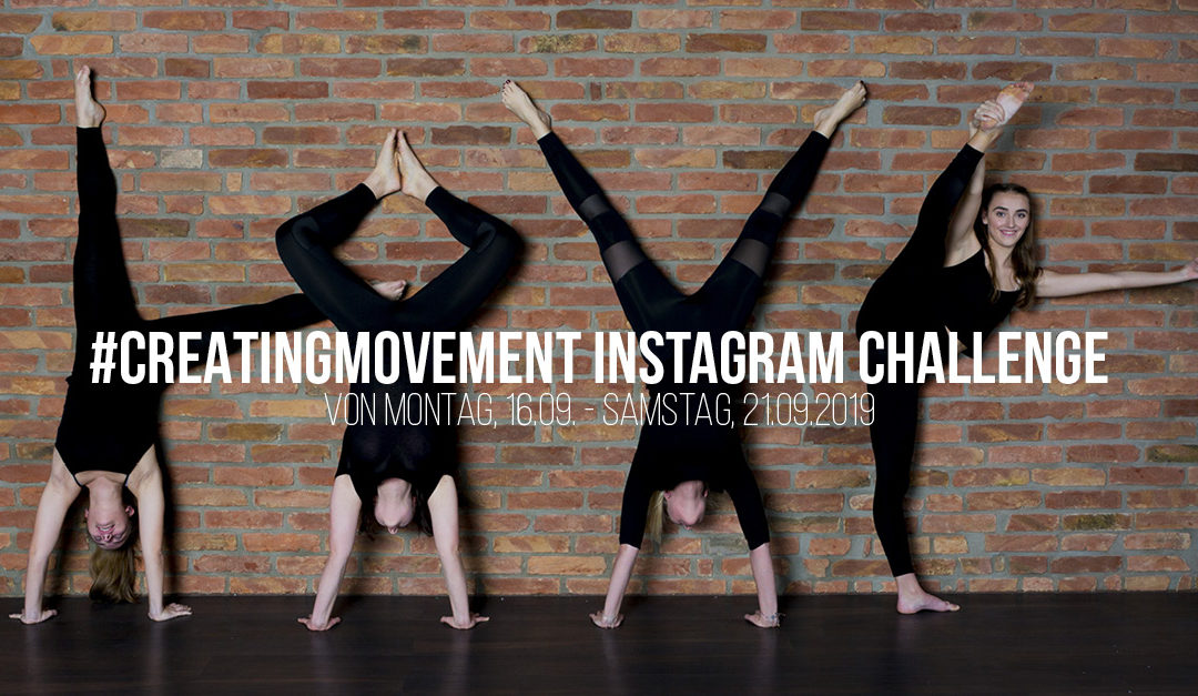 #CreatingMovement Instagram – Challenge