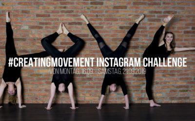 #CreatingMovement Instagram – Challenge
