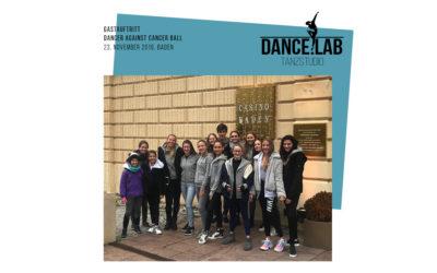Gastauftritt beim 4.Dancer Against Cancer Charity Ball in Baden