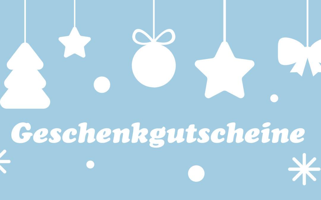 Geschenkgutscheine & Christmas Sale