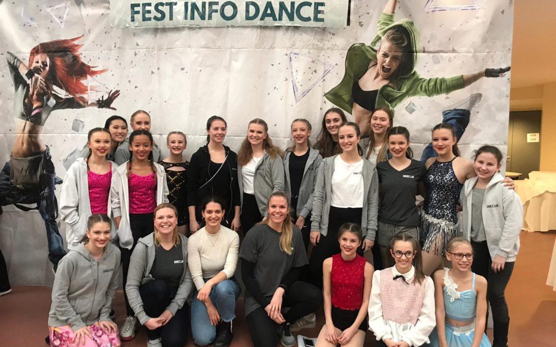 Tolles Ergebnis beim Fest Info Dance in der Pyramide Vösendorf!