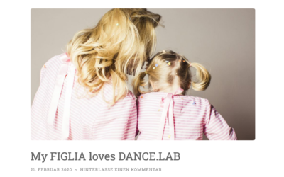 My FIGLIA loves DANCE.LAB