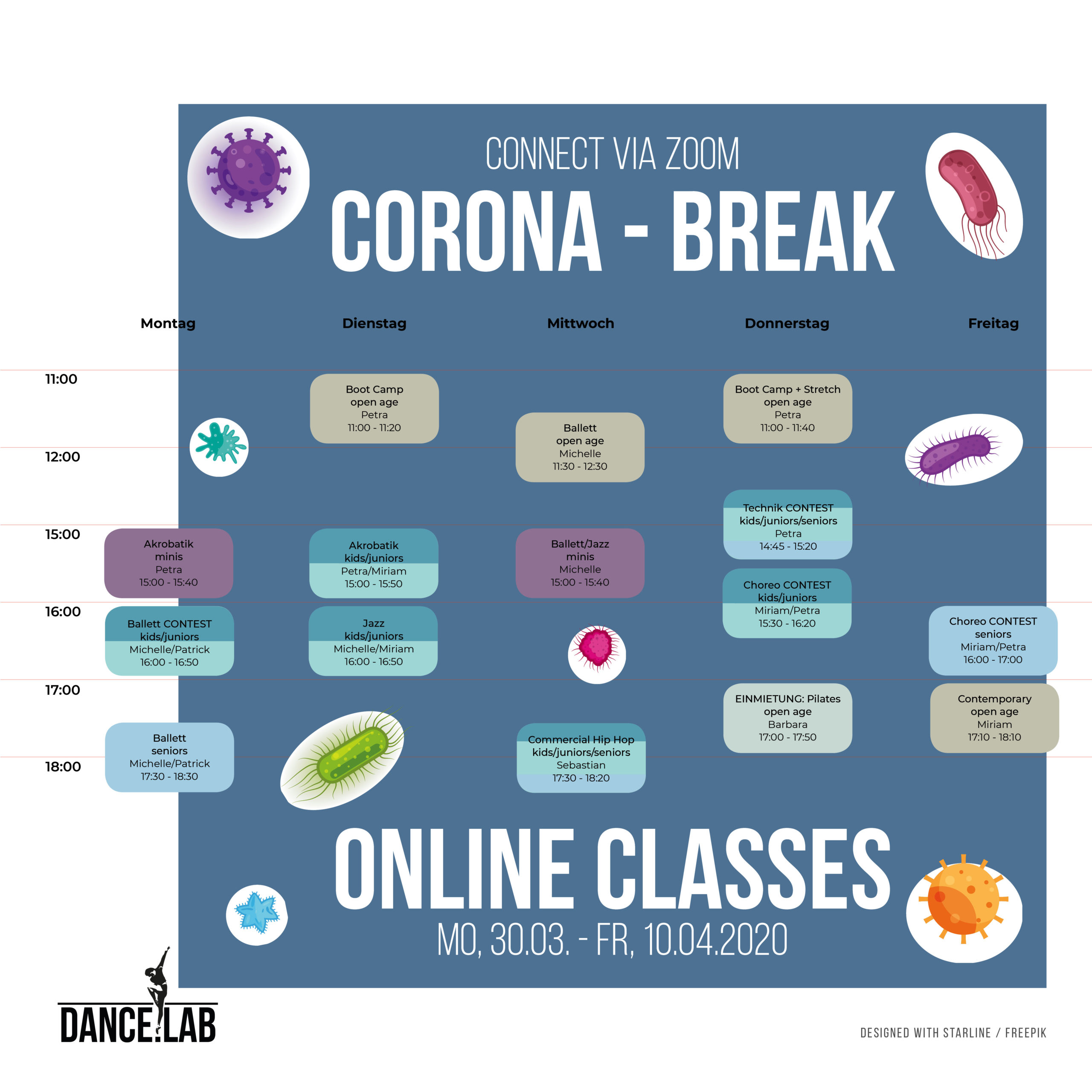 Corona Break - Online Classes