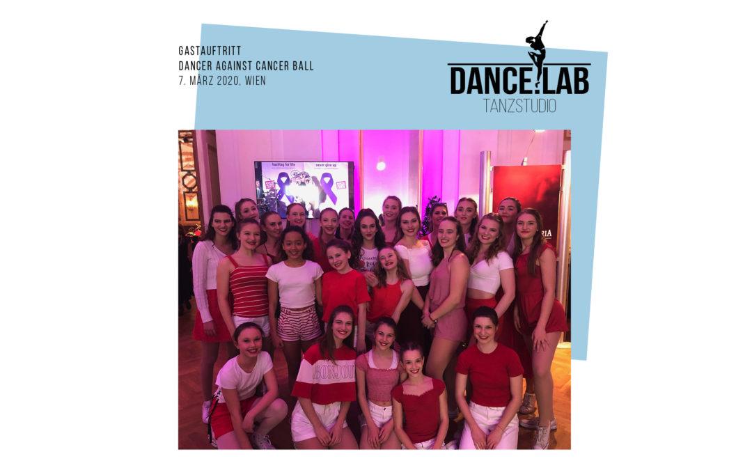 Gastauftritt beim Dancer Against Cancer Charity Ball in der Wiener Hofburg