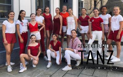 Respekt für den Tanz – Die Performance Demonstration