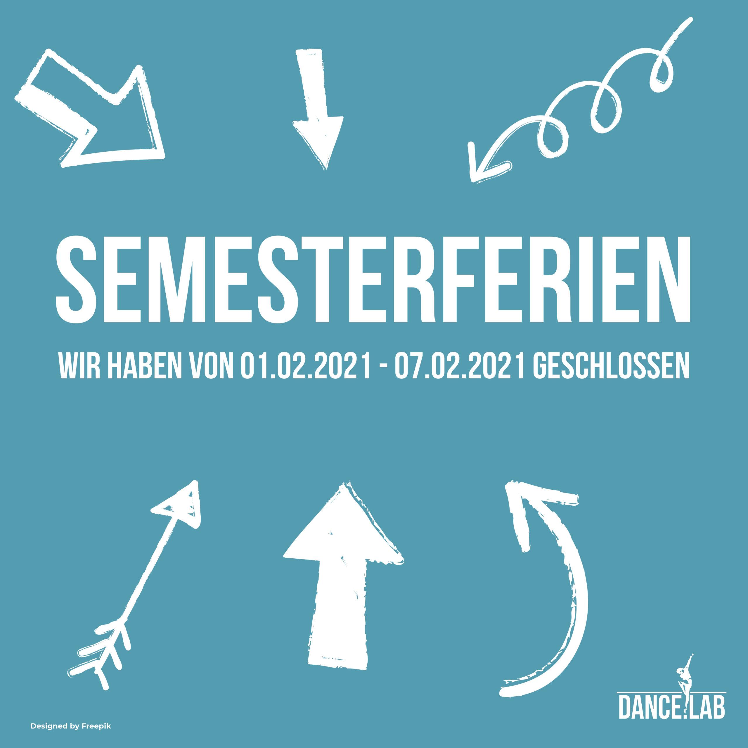 Semesterferien 2021