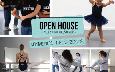 OPEN HOUSE WOCHE: 08. – 12. FEBRUAR 2021