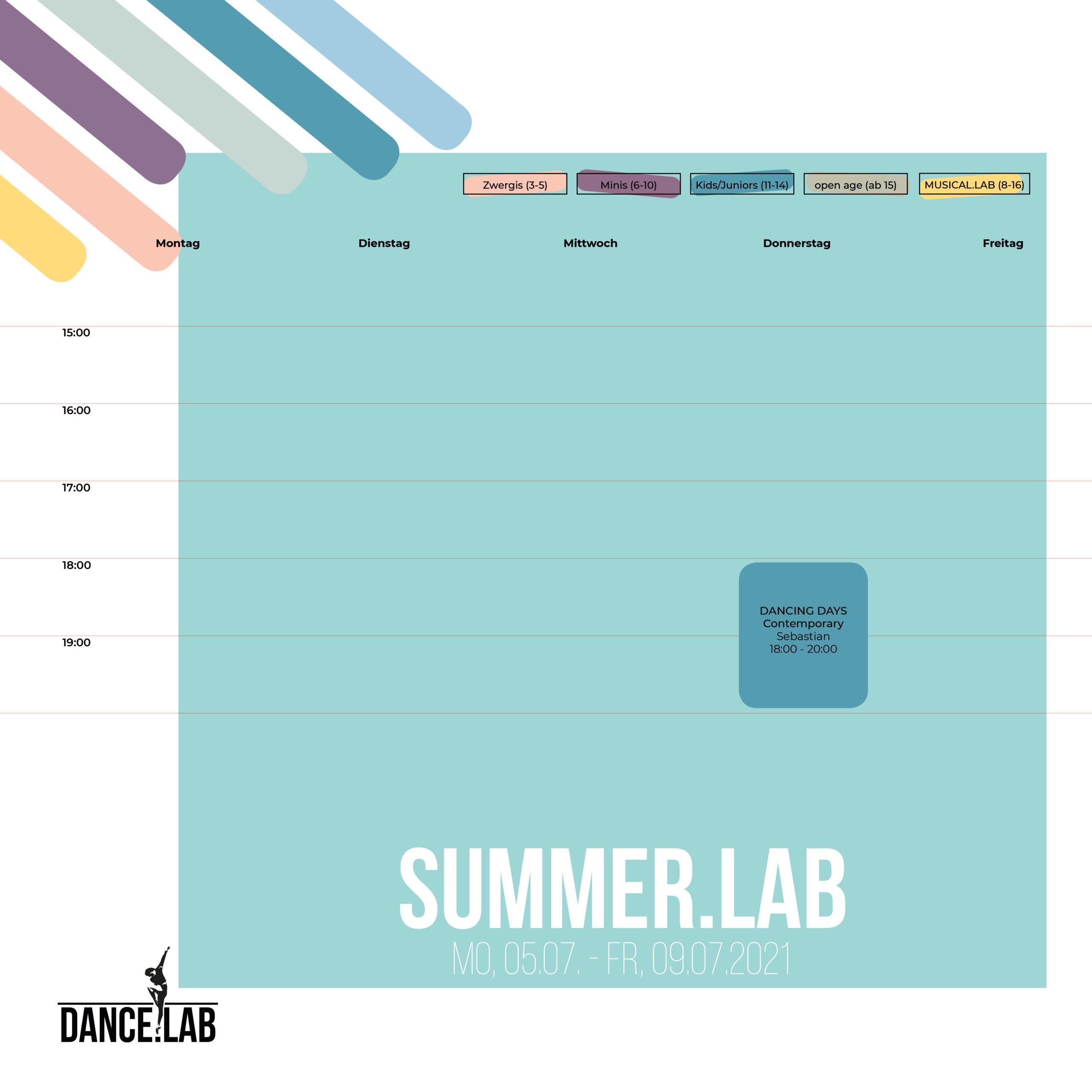 SUMMER.LAB - Woche 1