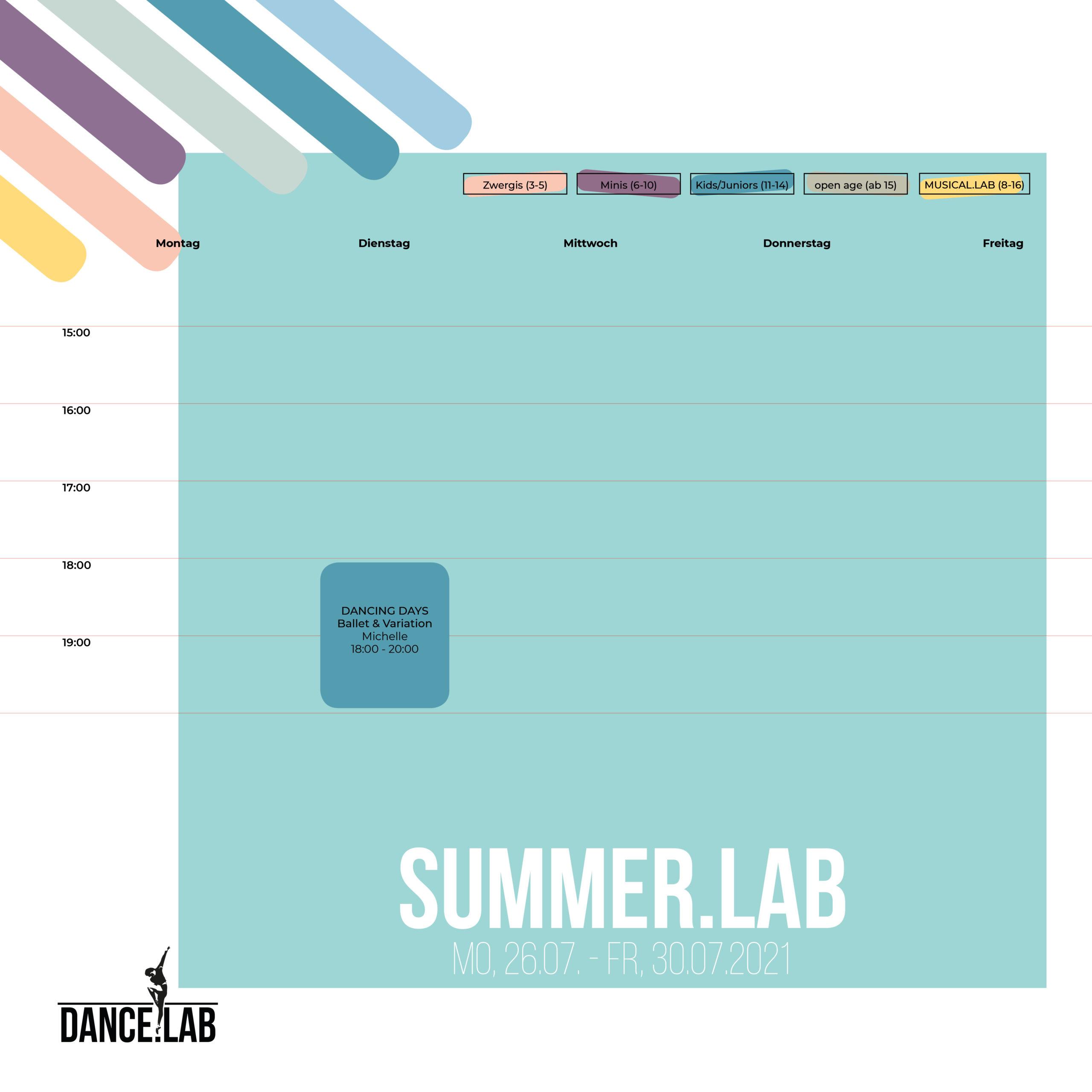 SUMMER.LAB - Woche 3